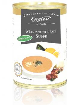 Maronencremesuppe, 390 ml. / Dose
