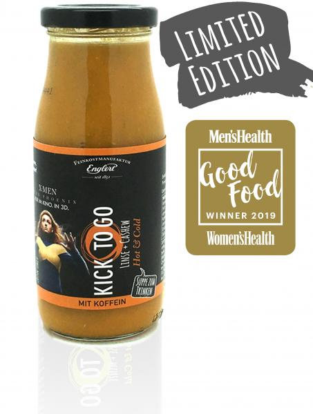 KICK TO GO - Linse + Cashew, 250ml/Flasche